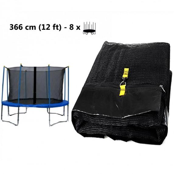 AGA vnitřní ochranná síť na trampolínu 366 cm - 8 tyčí