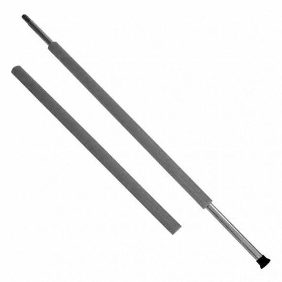 Pěnová ochrana na trampolínové tyče Aga  MIRELON 90 cm Black