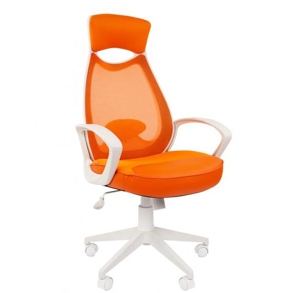Chairman kancelářské křeslo 7023225 - Bílo-oranžové