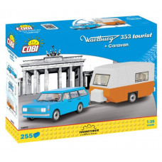 Cobi 24592 YOUNGTIMER Wartburg 353 Tourist s karavanem 255 ks