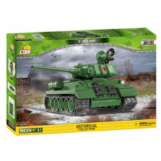 COBI-2476A SMALL ARMY Tank II WW T34/85 Preview