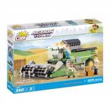 COBI 1866 Action Town Farma - kombajn Preview