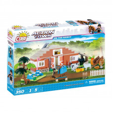 COBI 1867 Action Town Farma - stáje Preview