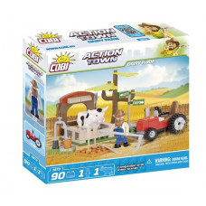 COBI 1873 Action Town Farma traktor a kráva Preview