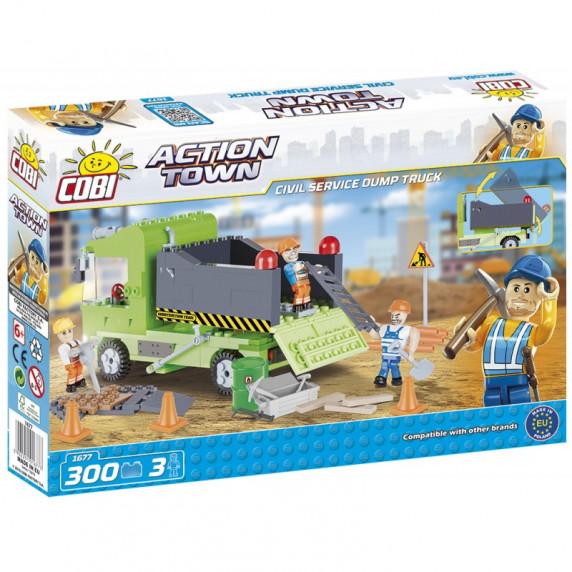 COBI 1677 Action Town Sklápěč