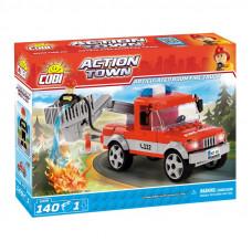 COBI 1479 Action Town Hasičské auto so zdvíhacím košíkom Preview