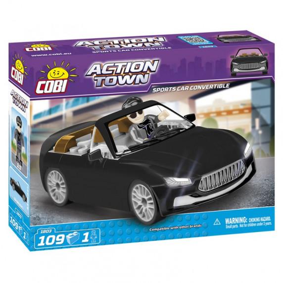 COBI 1803 Action Town Závodní auto