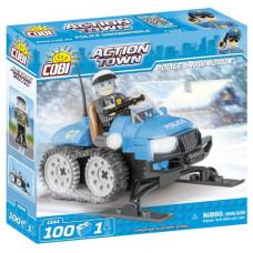 COBI 1544 Action Town Policejný sněžný skútr 100 ks Preview