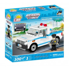 COBI 1546 Action Town Policejní auto 100 ks Preview
