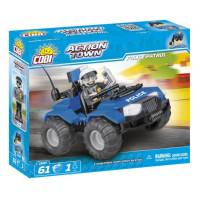 COBI 1547 Action Town Policejní hlídka ATV 61 ks