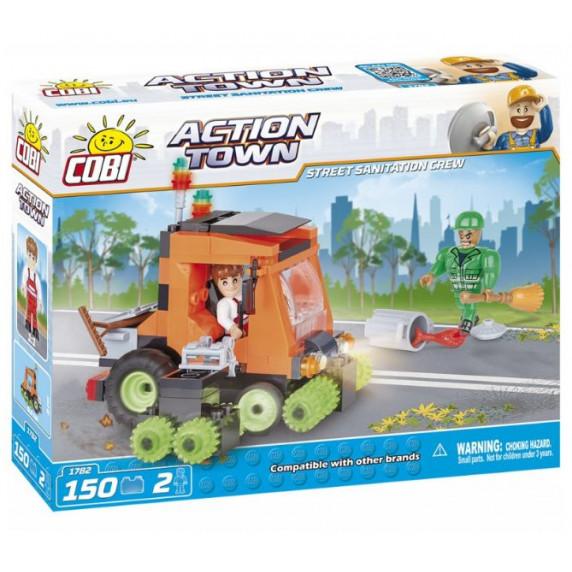 COBI 1782 Action Town Úklidové vozidlo 150 ks