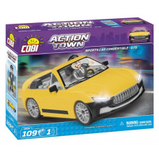COBI 1804 Action Town Závodní auto GTS Preview