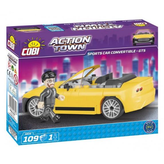 COBI 1804 Action Town Závodní auto GTS