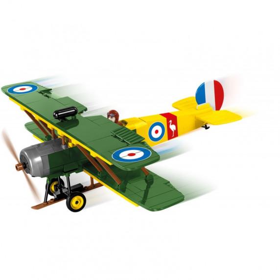 COBI 5704 Great War Stíhací letadlo AVRO 504 D7600 230 ks
