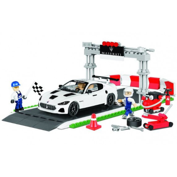 COBI 24567 Maserati Gran Turismo GT3 Racing set 1:35 300 ks