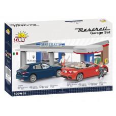 COBI 24568 Maserati Garáž 1:35 500 ks Preview