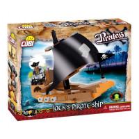 Cobi 6019 Pirates Jackova pirátská loď 140 ks