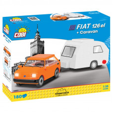 Cobi 24591 POLSKÝ FIAT 126 el s karavanem Preview