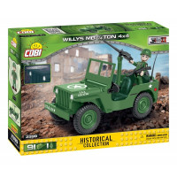 COBI 2399 SMALL ARMY World War II Americký terénní automobil Willys MB 1/4