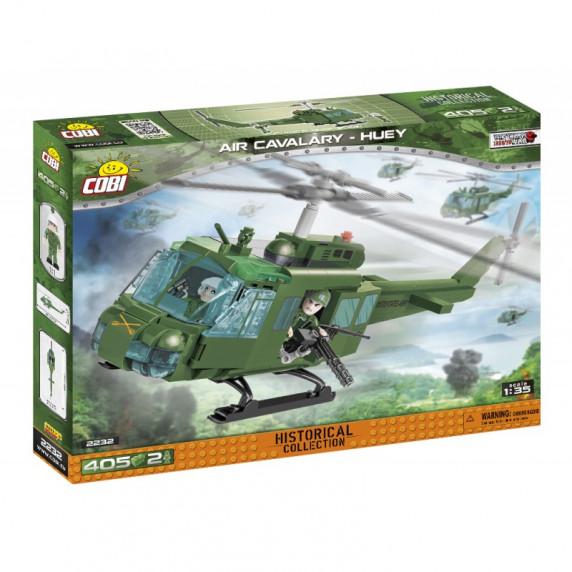 COBI 2232 Small Army Americký vrtulník Air Cavalry UH 410 ks