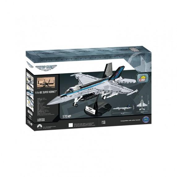 COBI 5805 Stíhací letoun TOP GUN F / A-18E Super Hornet, 1:48, 570 ks