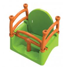 Dětská houpačka s ohrádkou 3 v 1 Inlea4Fun  - zelená Preview