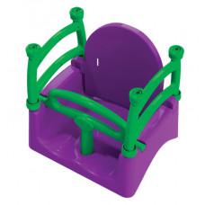 Dětská houpačka s ohrádkou 3 v 1 Inlea4Fun  - fialová Preview