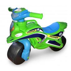 Dětské odrážedlo motorka Inlea4Fun POLICIE - zelená/modrá Preview