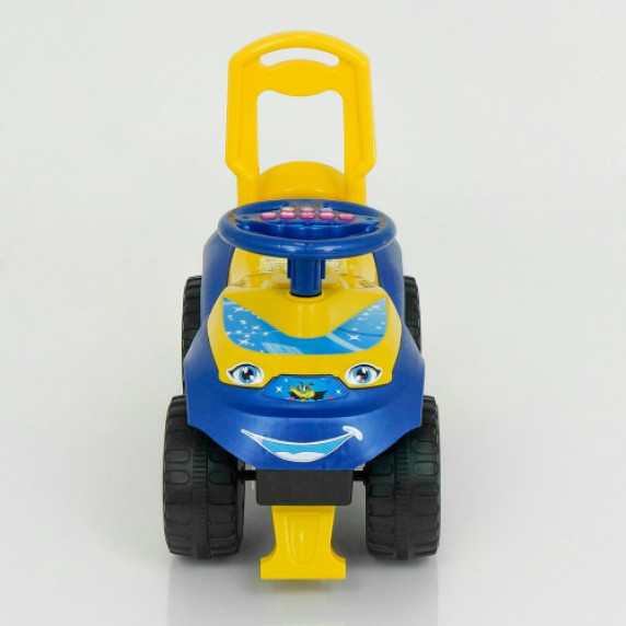 Dětské odrážedlo se zvukovými efekty Inlea4Fun - žluté/modré