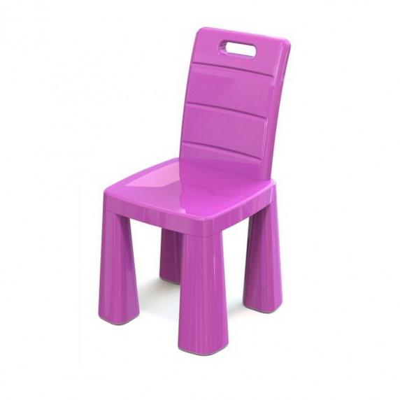 Umělohmotná židlička Inlea4Fun EMMA - růžová