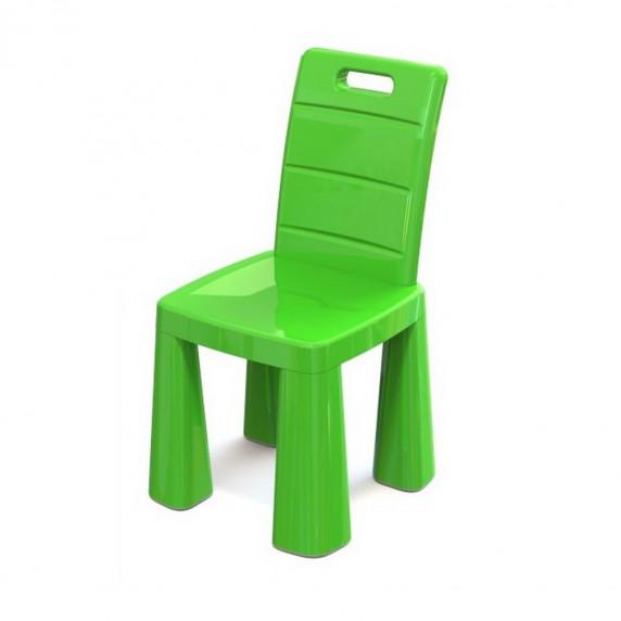 Umělohmotná židlička Inlea4Fun EMMA - zelená