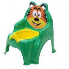 Detský nočník ve tvaru stoličky Tiger Inlea4Fun - zelený Preview
