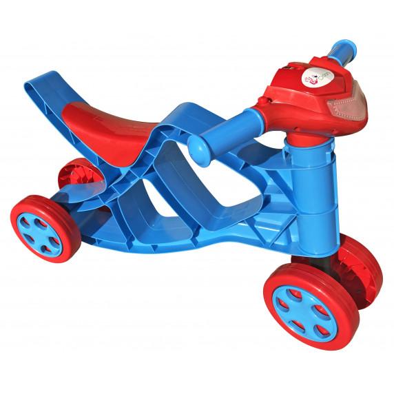 Dětské odrážedlo motorka se zvukovými efekty Inlea4Fun - červené/modré