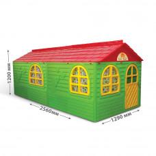 Zahradní domeček 256x129x120 cm Inlea4Fun DANUT - zelený Preview