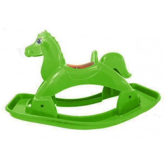 Houpací koník plastový Inlea4Fun - zelený