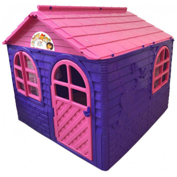 Záhradní domeček 129x129x120 cm Inlea4Fun DANUT - fialový