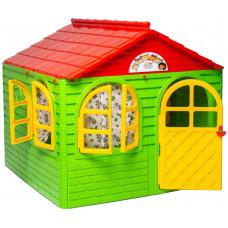 Záhradní domeček 129x129x120 cm Inlea4Fun DANUT -  Zelený Preview