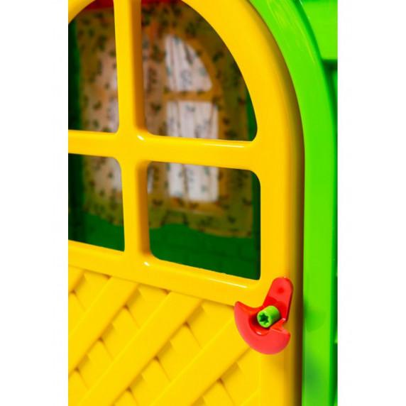 Záhradní domeček 129x129x120 cm Inlea4Fun DANUT -  Zelený
