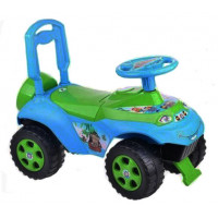 Dětské odrážedlo se zvukovými efekty Inlea4Fun - zelené/modré