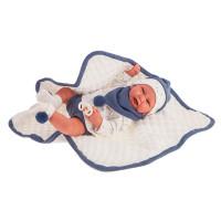 Realistická dětská panenka-miminko 40 cm Antonio Juan - Carlo Mantita
