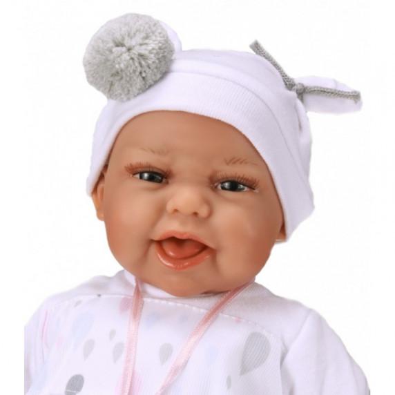 Realistická dětská panenka-miminko 34 cm Antonio Juan - Clara Carro