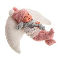 Realistická dětská panenka-miminko 27 cm Antonio Juan - Kika Cojín Luna