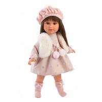 Luxusní dětská panenka-holčička 40 cm Llorens 54028 -Leti