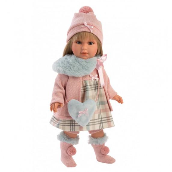 Luxusní dětská panenka-holčička 40 cm Llorens - Tina