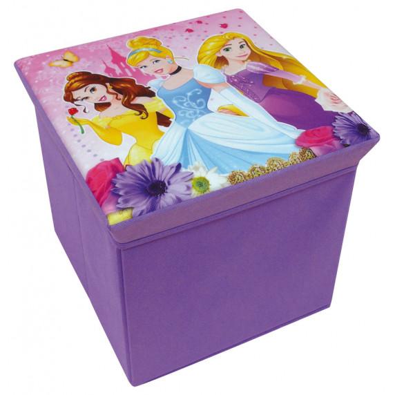 FUN HOUSE Dětská taburetka s úložným prostorem Princess 712374
