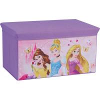 Dětská látková truhla na hračky Princezny FUN HOUSE 712441
