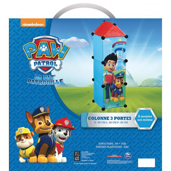 FUN HOUSE Dětská skříňka s 3 dvířky Tlapková patrola 712536