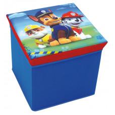 Dětská taburetka s úložným prostorem Tlapková Patrola FUN HOUSE 712538 Preview