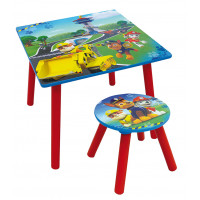 FUN HOUSE Dětský stůl se židlí Tlapková patrola 712593
