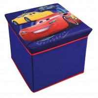 FUN HOUSE Dětská taburetka s úložným prostorem Cars 712768